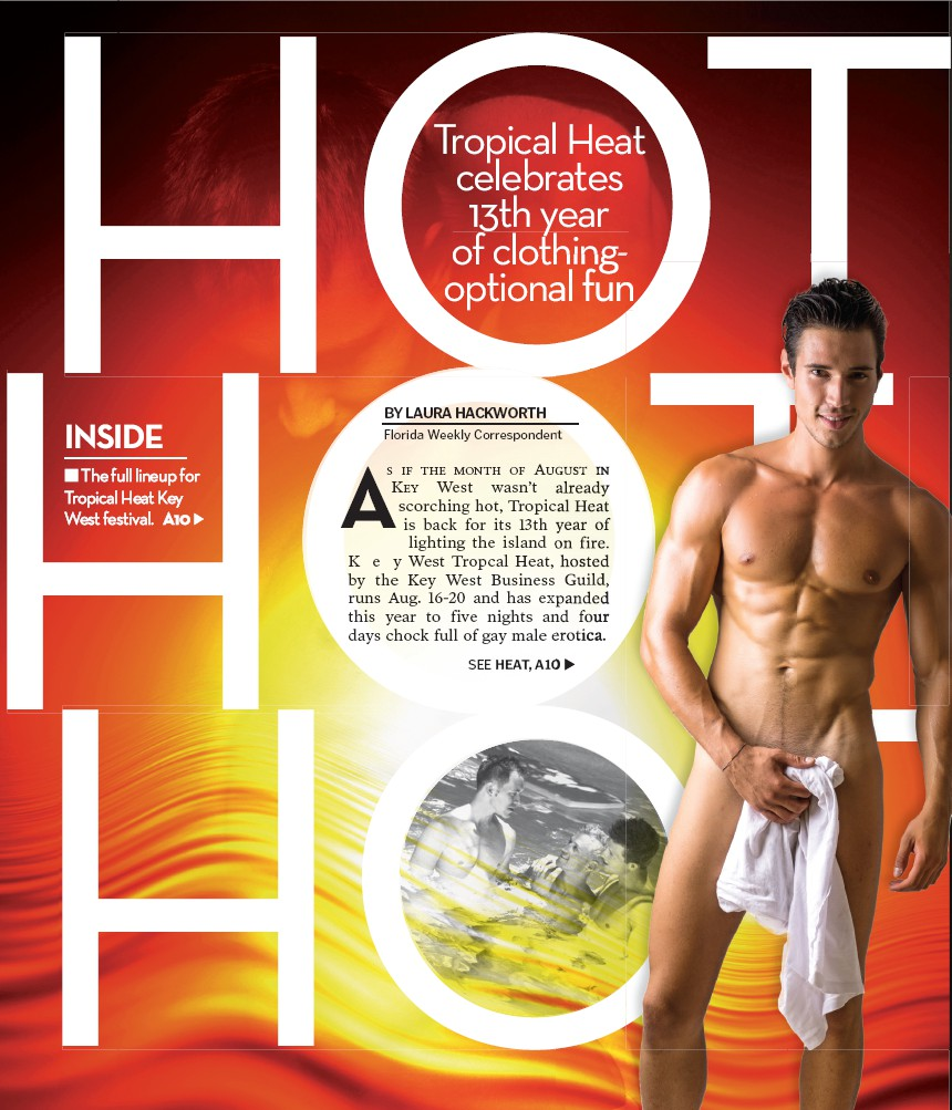 News concerning hot erotic