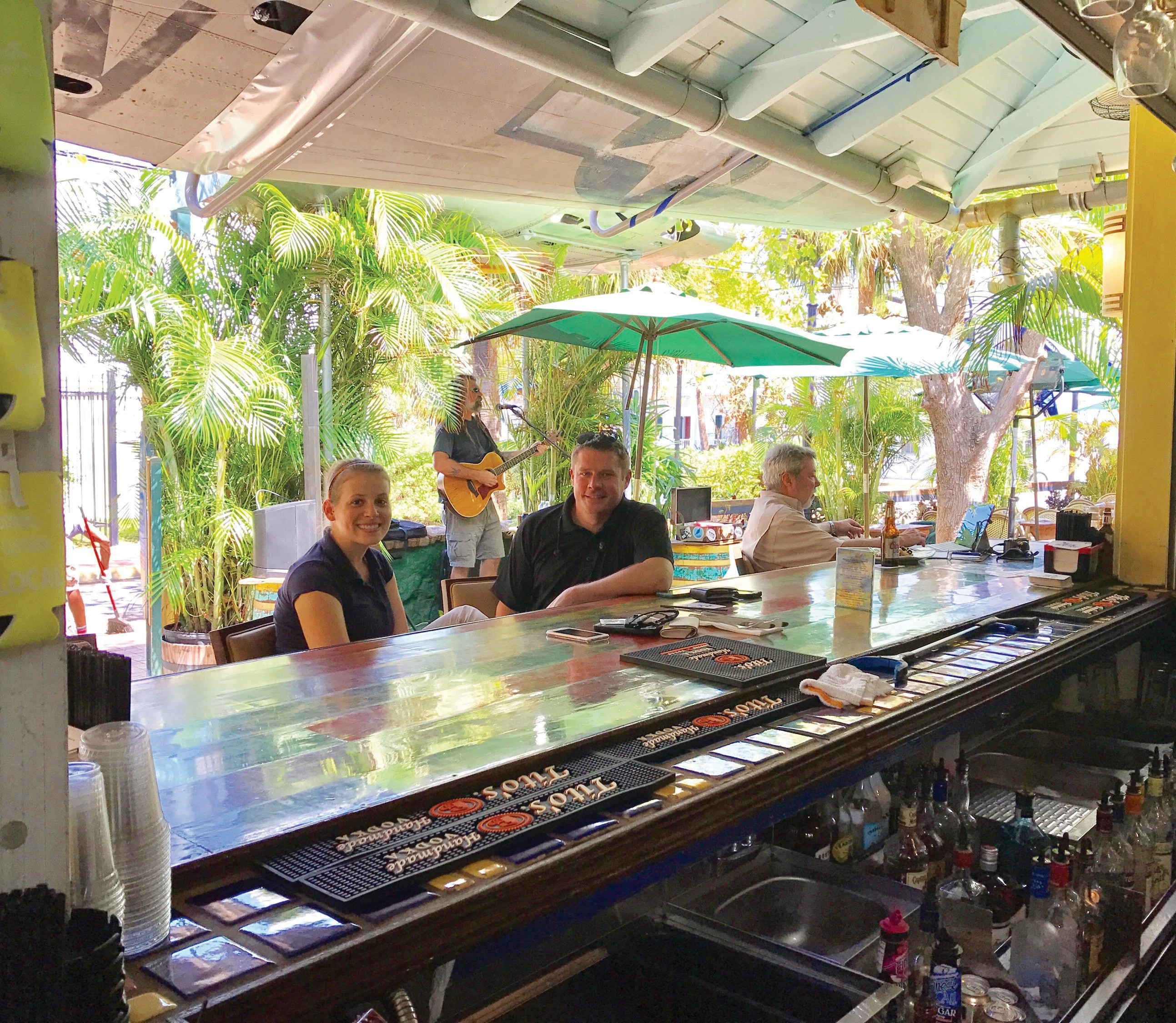 The Blue Macaw was one of the first restaurants on the island to reopen after Irma. COURTESY PHOTO