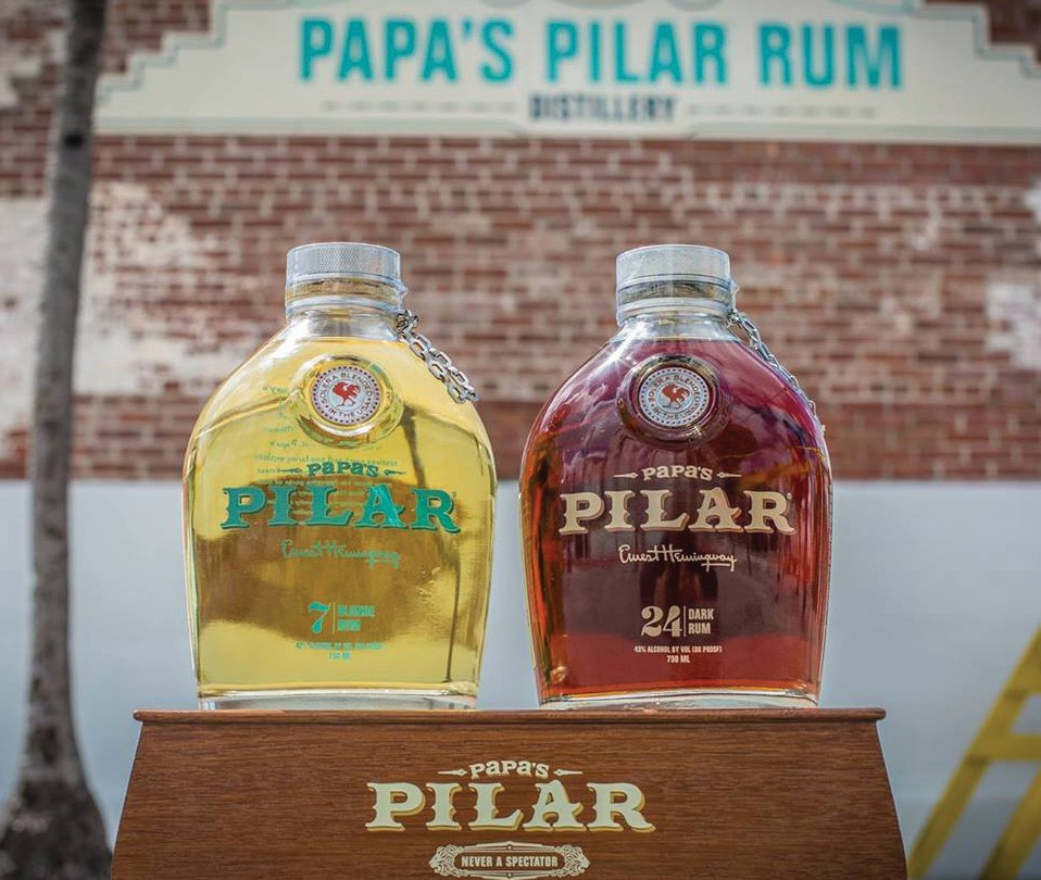 Key West's new rum is named after Ernest Hemingway's favorite muse, his sailboat the Pilar. COURTESY PHOTO