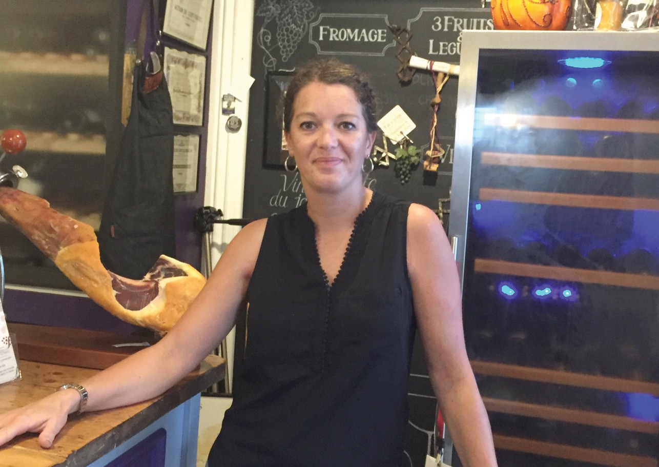 VIV Wine & Cheese Bar bartender and manager Julie Le Sergent. COURTESY PHOTOS