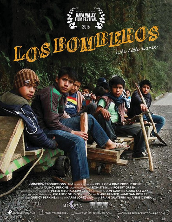 "Quincy Perkin's documentary ""Los Bomberos (The Little Firemen)"" captures the story of a group of orphaned Peruvian boys on homemade go-karts who become emergency responders in the Andes mountains."
