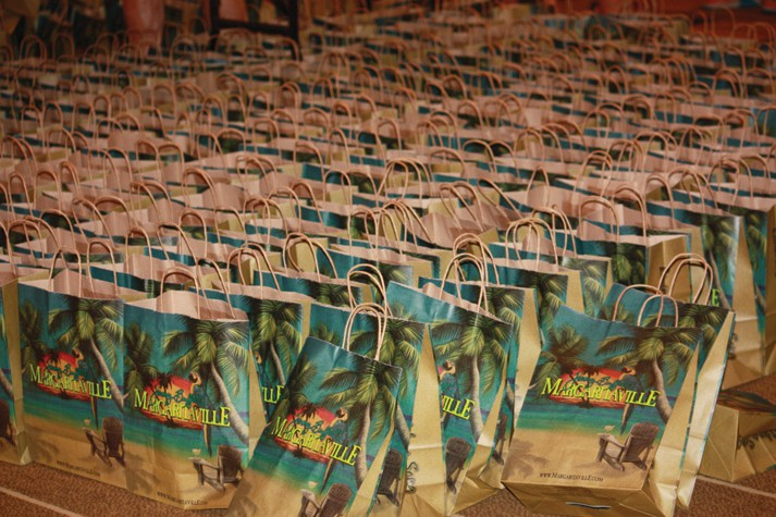 Swag bags are prepared for participants COURTESY PHOTO