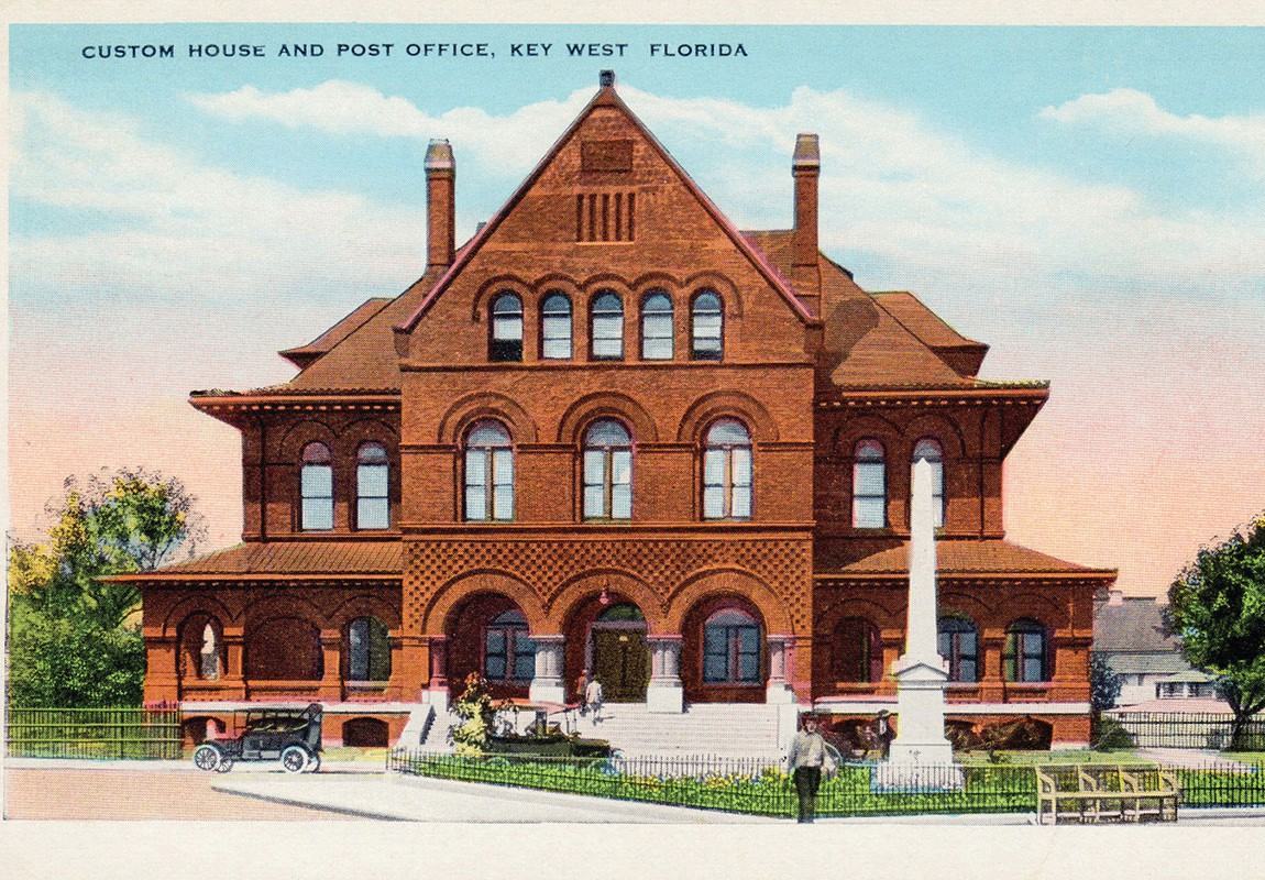 "This is just one example of an item from the ""Permanent Collection,"" an ongoing exhibit at the Key West Art and Historical Society, Custom House, 281 Front St. For more information visit, www.Kwahs.org COURTESY PHOTO"