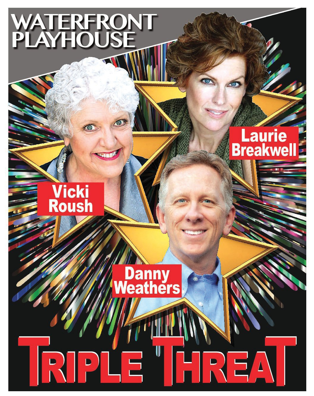 """This year's kick-off concert features Waterfront Playhouse favorites Danny Weathers, Laurie Breakwell and Vicki Roush."""