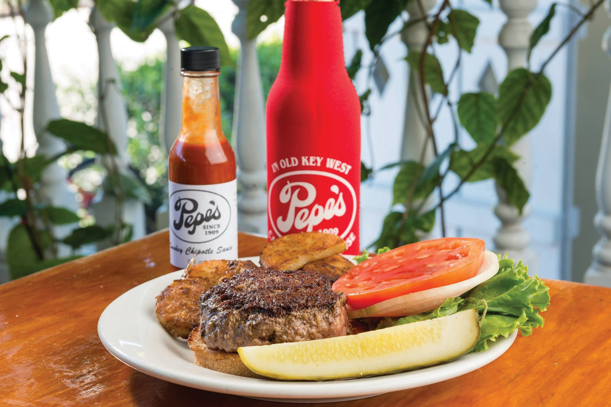Pepe's offers traditional Thanksgiving choices for their famous burgers. COURTESY PHOTO