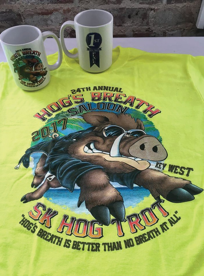 Hog's Breath is sponsoring its 24th annual 5K Hog Trot on Thanksgiving day. COURTESY PHOTO