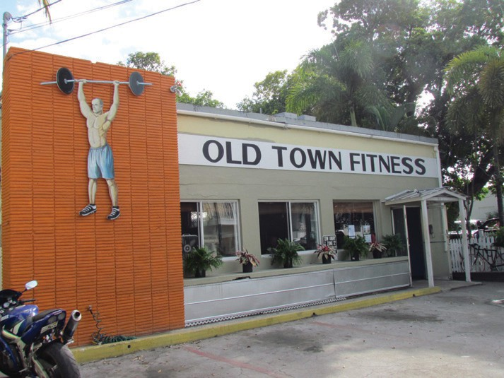 Old Town Fitness offers old-school charm.