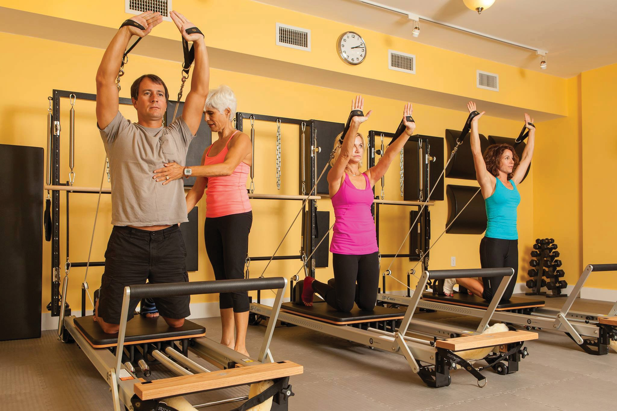 CoreFit Pilates on Southard Street offers a boutique studio and effective tutelage.