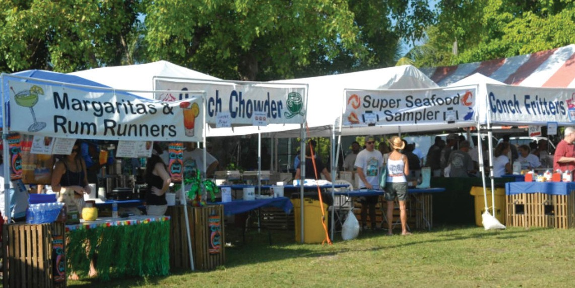 Visitors of the Bayview Park Seafood Festival will have many seafood vendors to choose from.