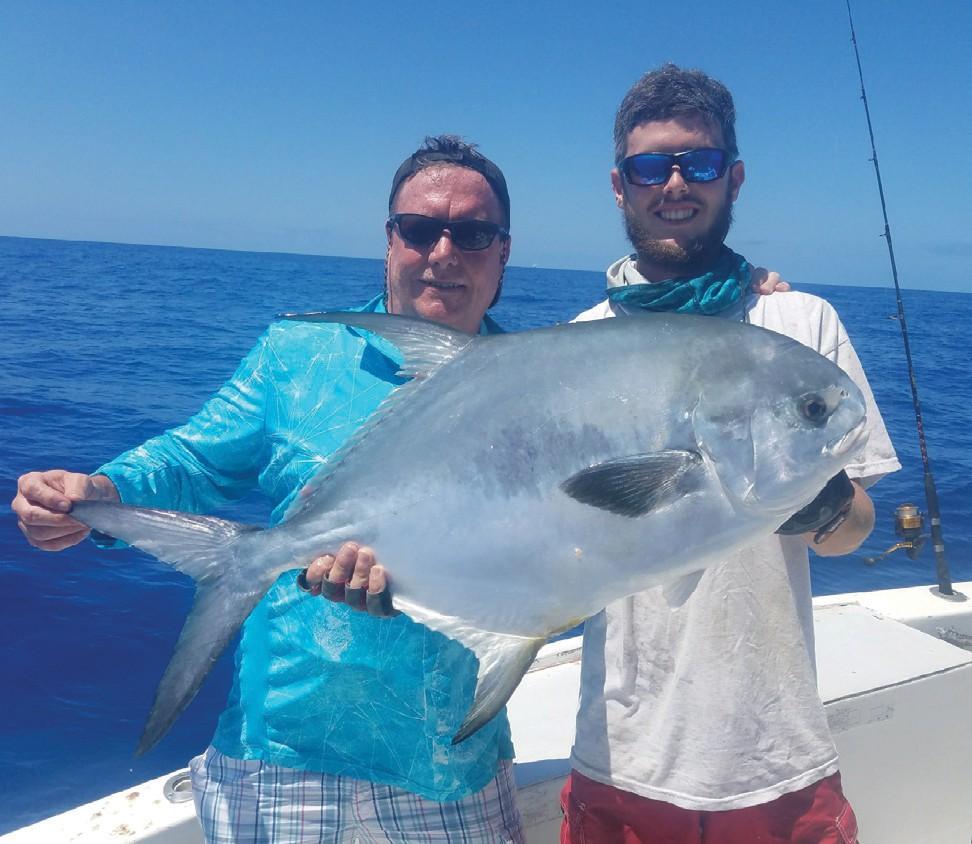 ¦ Wild Bill Charters: Always fun to catch a nice permit. — Capt. Artie Duplessis 1801 S. Roosevelt Blvd., Key West 305-744-7957 http://wildbillkeywest.com