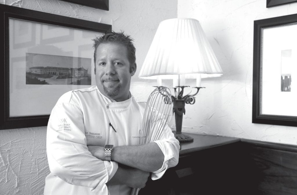 Chef Alex Beaumont