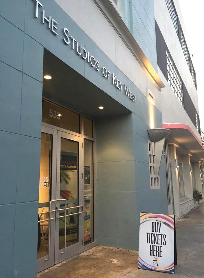 The entrance to the Studios on Eaton Street. COURTESY PHOTO
