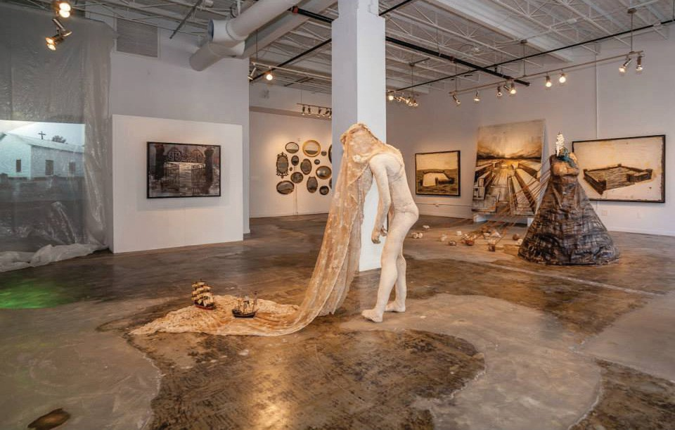 The gallery at The Studios hosts local Key West artists. COURTESY PHOTO