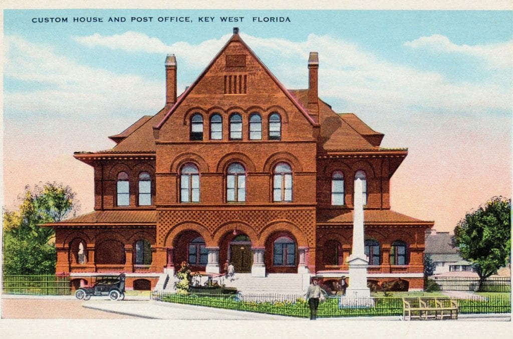 The Key West Art & Historical Society's Permanent Collection includes more than 25,000 objects spanning from postcards, photographs, paintings, artifacts, textiles, ordnance and archives highlighting the people, places and events that have shaped the Florida Keys. Items are available through the generous support of donors. See it at Key West Art and Historical Society Custom House, 281 Front St., www.Kwahs.org. COURTESY PHOTO