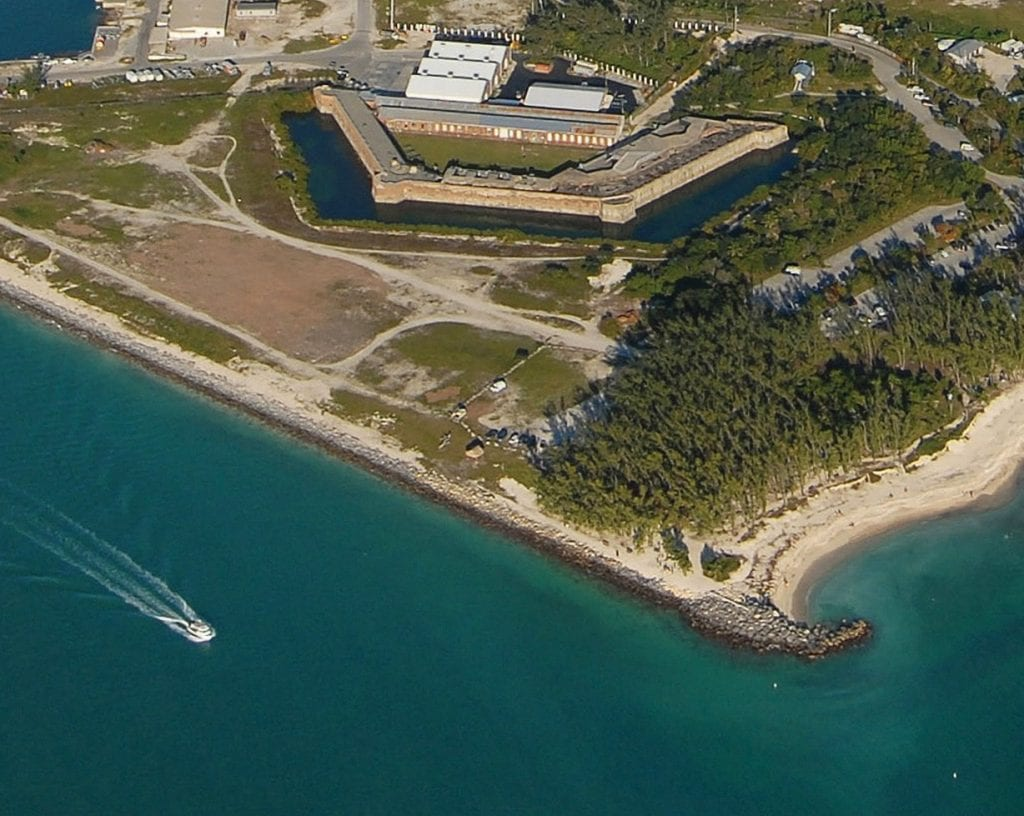 Fort Zach from the air. COURTESY PHOTO