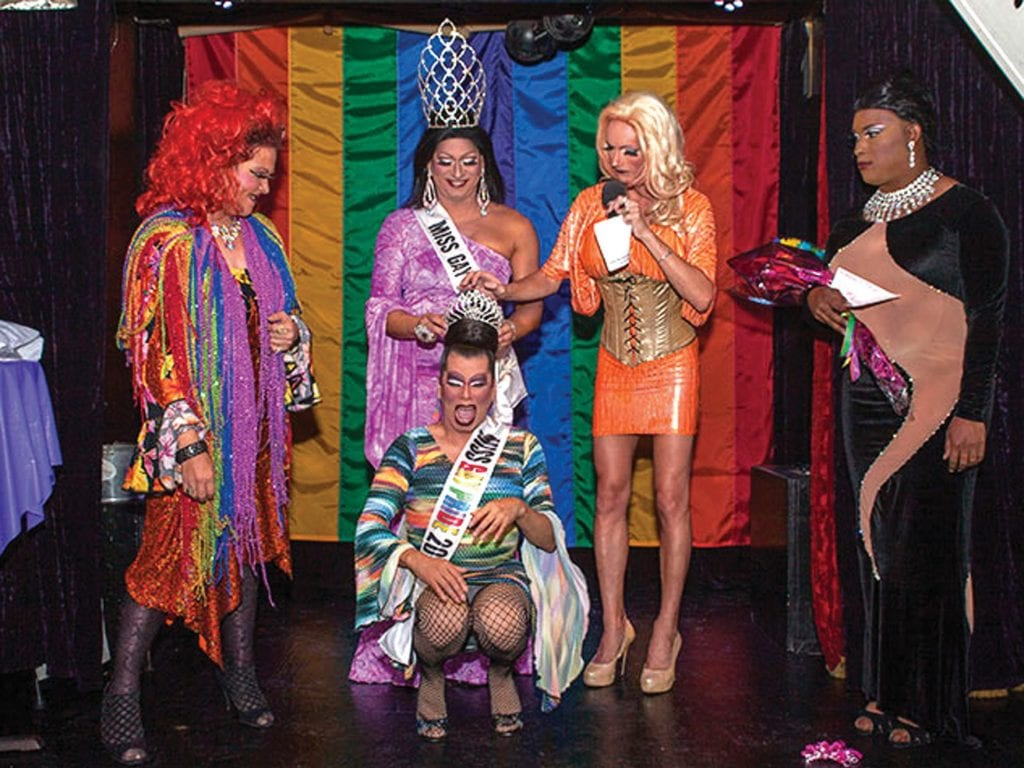 The winner of the Miss Pride competition is crowned. LARRY BLACKBURN / COURTESY PHOTO