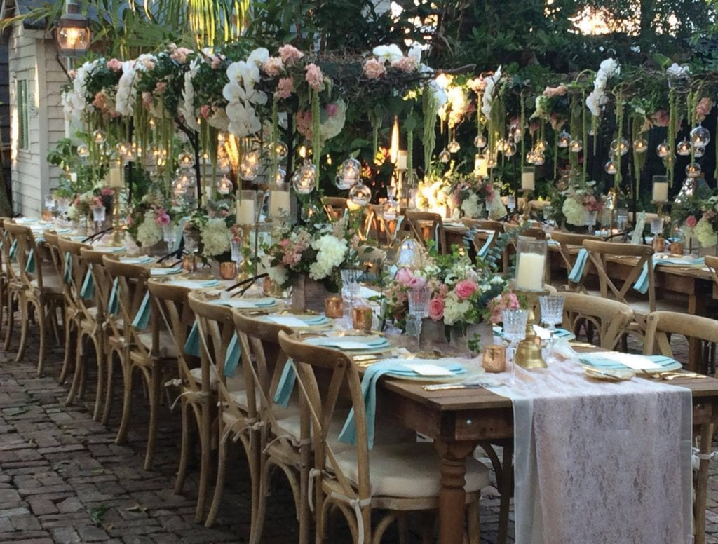 A wedding celebration at Audubon House & Tropical Gardens won't come cheap, but there are ways to get the most bang for your wedding buck at the historic venue that oozes romance. AUDOBON HOUSE & TROPICAL GARDENS / COURTESY PHOTO