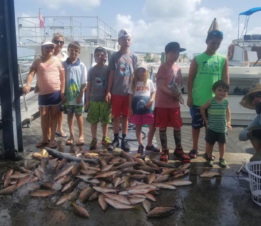 ¦ Gulfstream Fishing Key West: These are our future fishermen! — Gulfstream Fishing Key West 1801 N. Roosevelt Blvd., Key West 305-296-8494 www.gulfstreamkeywest.com