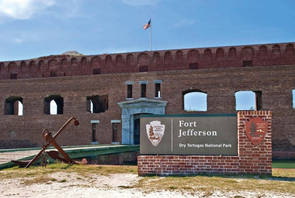 The entrance to Fort Jefferson. COURTESY PHOTO
