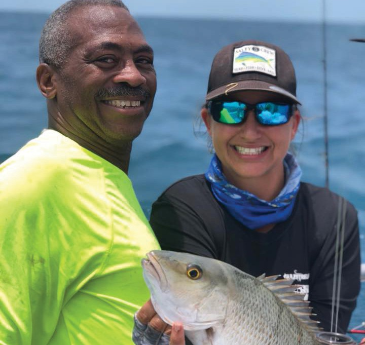 ¦ Gulfstream Fishing Key West: Smiles and lots of fish all round. — Gulfstream Fishing Key West 1801 N. Roosevelt Blvd., Key West 305-296-8494 www.gulfstreamkeywest.com