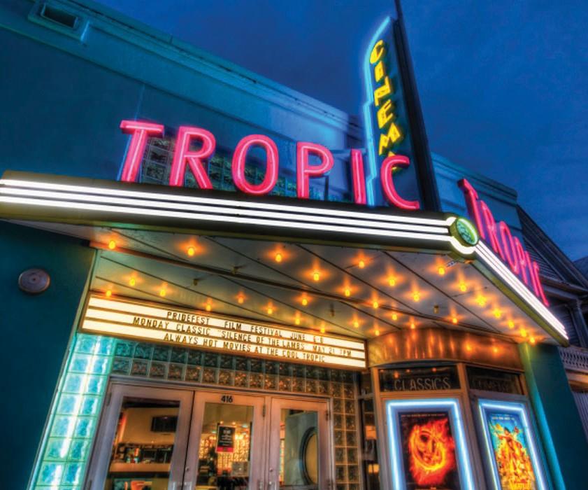 The Tropic Cinema COURTESY PHOTO