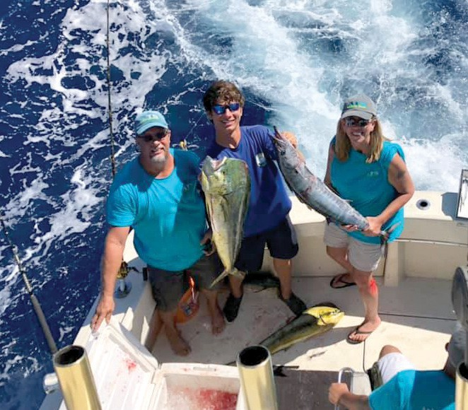 ¦ Cowboy Cowgirl Fishing Charters: Got some quality fish today on the Cowgirl! Good thing we had an excellent crew from Atlantic Turfscapes. Great job today, Taylor. They had a memorable time, and we really enjoyed having them. Thanks for an awesome day, folks. — Capt. Mark Baumgarten 305-294-5888 keywestfishing-charters.com