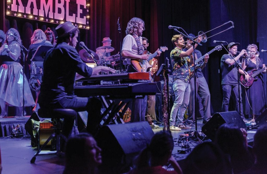 An evening in the Sunday Ramble concert series at the Key West Theater. COURTESY PHOTO