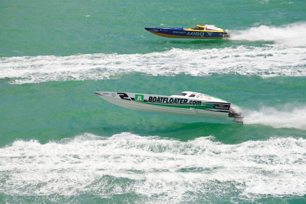 The Key West Super Boat world championships are often referred to as the Indy 500 of offshore racing. COURTESY PHOTOS