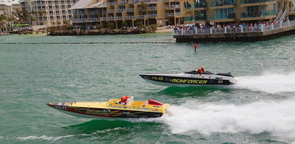 The racers in the 38th annual Key West Super Boat world championships are the best of the best. COURTESY PHOTOS