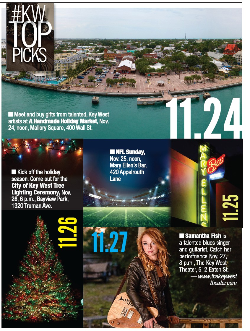 KEY WEST CALENDAR OF EVENTS | Key West Florida Weekly | Key West News