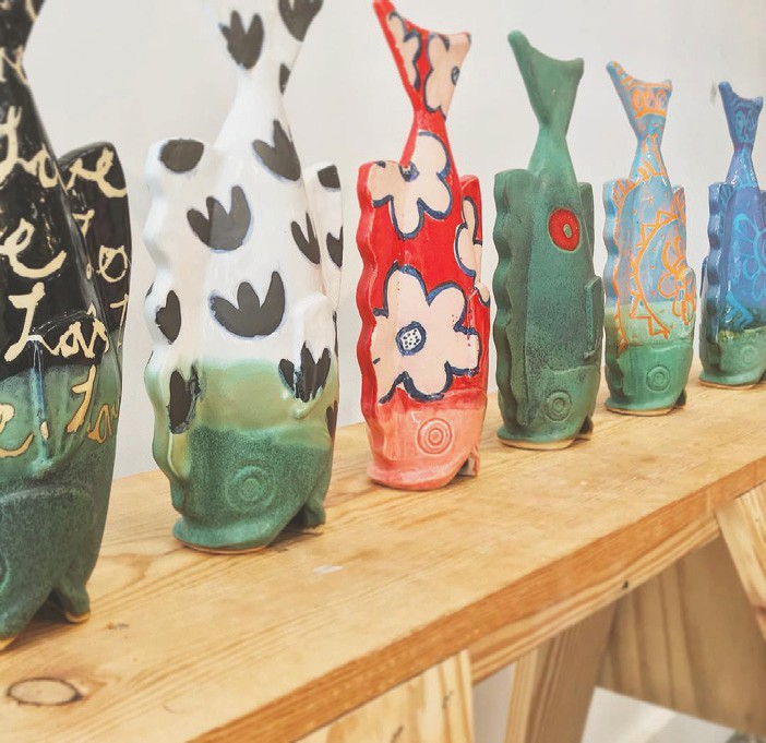 Key West Pottery sells unique gifts that are sustainable and beautiful. COURTESY PHOTO