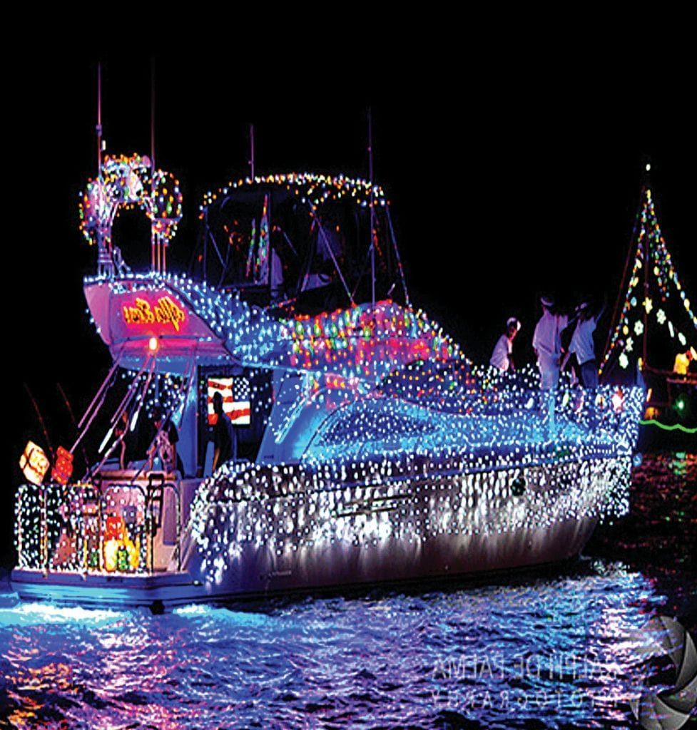 Those looking for the quintessential Key West holiday experience should mark their calendars for Saturday, Dec. 15, then decide whether to watch the 28th annual Lighted Boat Parade from land or sea. COURTESY PHOTO