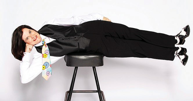 Paula Poundstone will be performing at the Key West Theater on Friday, Dec. 7. COURTESY PHOTO