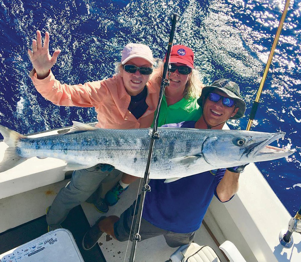 ¦ Cowboy Cowgirl Sportfishing Charters: Big animal! I'd hate to see this one while in the water. #cowboycowgirlsportfishing — Capt. Mark Baumgarten 1801 N. Roosevelt Blvd., Key West Private and shared charters 305-294-5888 keywestfishing-charters.com