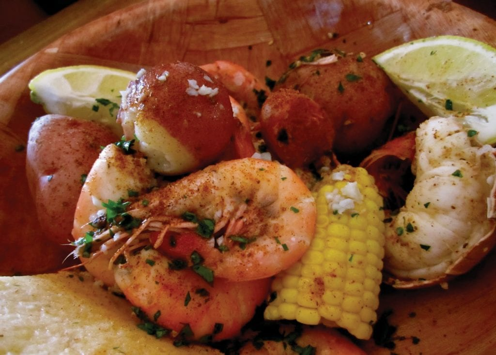 The I Love Stock Island shrimp boil is on Sunday at 11 a.m. COURTESY PHOTO