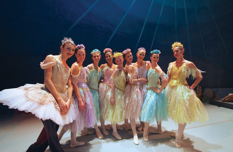 The Key West Nutcracker ballerinas. COURTESY PHOTO