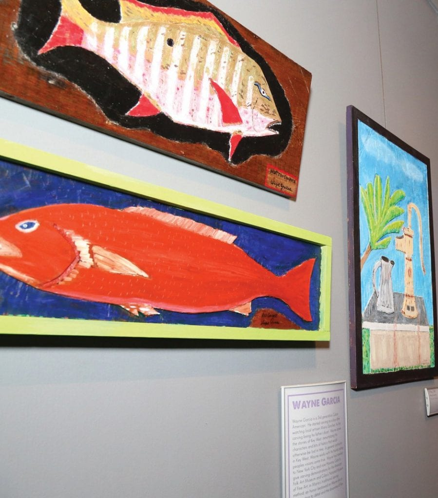 Wayne Garcia's work is currently on display at the Custom House Museum. COURTESY PHOTO