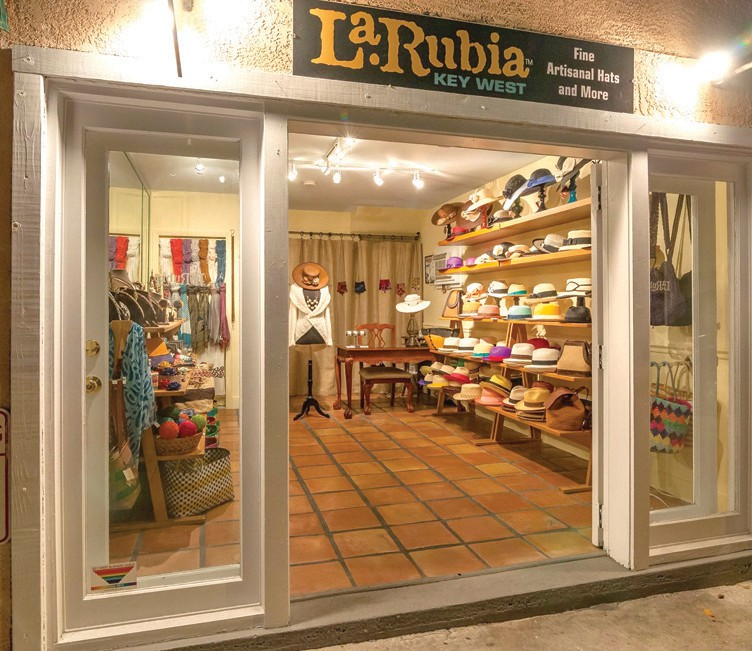 La Rubia Fine Hats is the Florida Keys' only importer of authentic Panama hats. COURTESY PHOTO