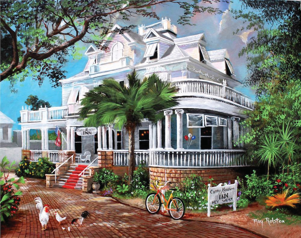 The Curry Mansion Inn dates to the early days of Key West. COURTESY PHOTOS