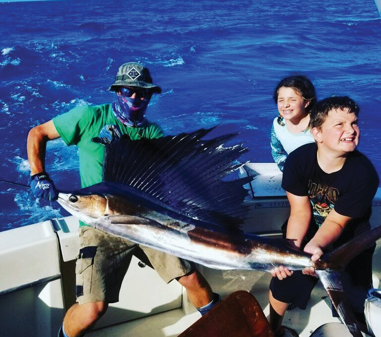 ¦ Cowboy Cowgirl Sportfishing Charters: Two for two on sailfish yesterday and some mahi!! — Capt. Mark Baumgarten 1801 N. Roosevelt Blvd., Key West Private and shared charters 305-294-5888 keywestfishing-charters.com