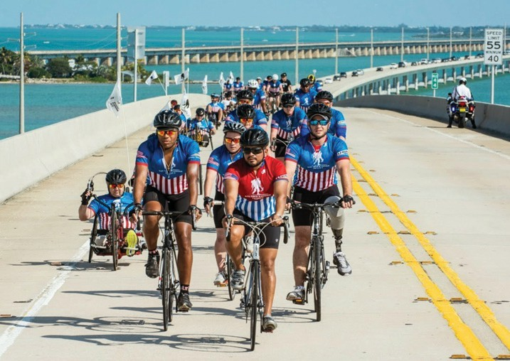 The 2019 Soldier Ride takes place on Saturday, Jan. 12. COURTESY PHOTO