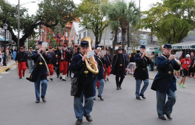 Heritage days events include a parade down Duval Street. COURTESY PHOTO