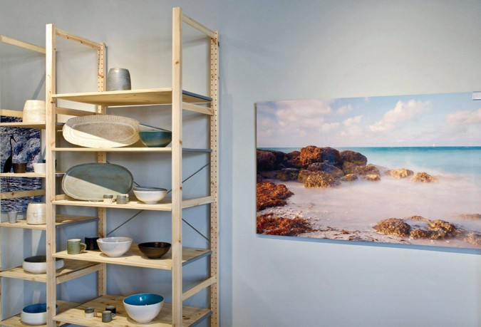 Pottery and photography complement each other at Shade & Shutter. COURTESY PHOTO