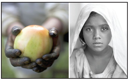 Left: Two powerful images by American documentary filmmaker and human rights activist Robin Romano. COURTESY PHOTOS