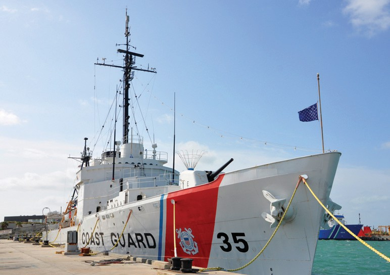 The USCGC Ingham (WHEC-35), a decommissioned United States Coast Guard Cutter, is the ship museum at Truman Waterfront Park. COURTESY PHOTOS