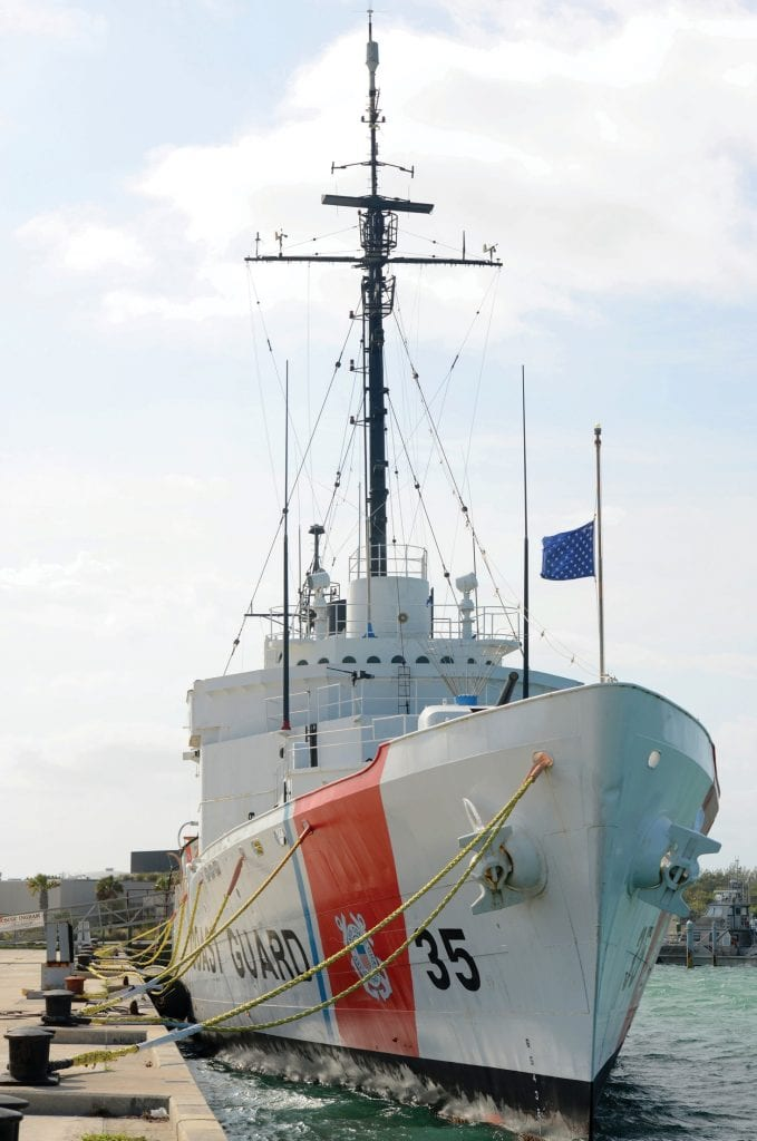 The USCGC Ingham (WHEC-35), originally served the U.S. Navy in WWII. She is the gem of the Key West Maritime Memorial Museum. COURTESY PHOTO