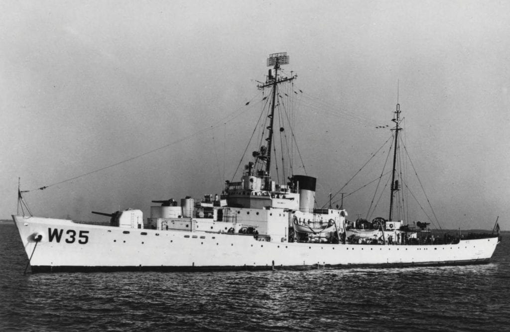 The USCGC Ingham in 1953. COURTESY PHOTOS