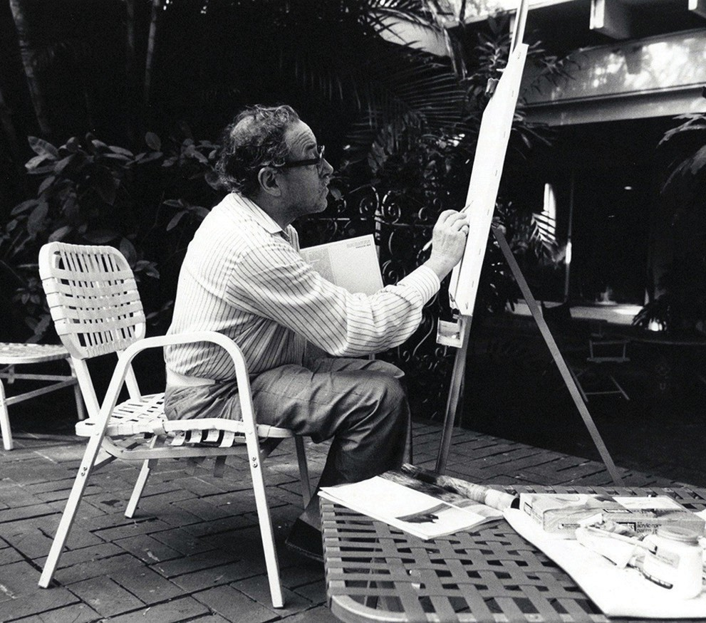 Key West Art & Historical Society's plein air painting contest celebrates the legacy of Tennessee Williams. COURTESY PHOTO
