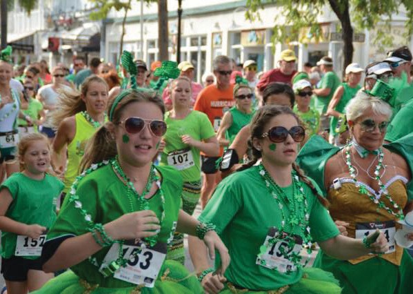 St. Patrick's Day is best known for bar hopping and binge drinking, but you can start the day on a virtuous note by lacing up and running the Irish Kevin's Shamrock Shuffle 5K. Then feel free to hit the festivities, guilt-free. COURTESY PHOTO