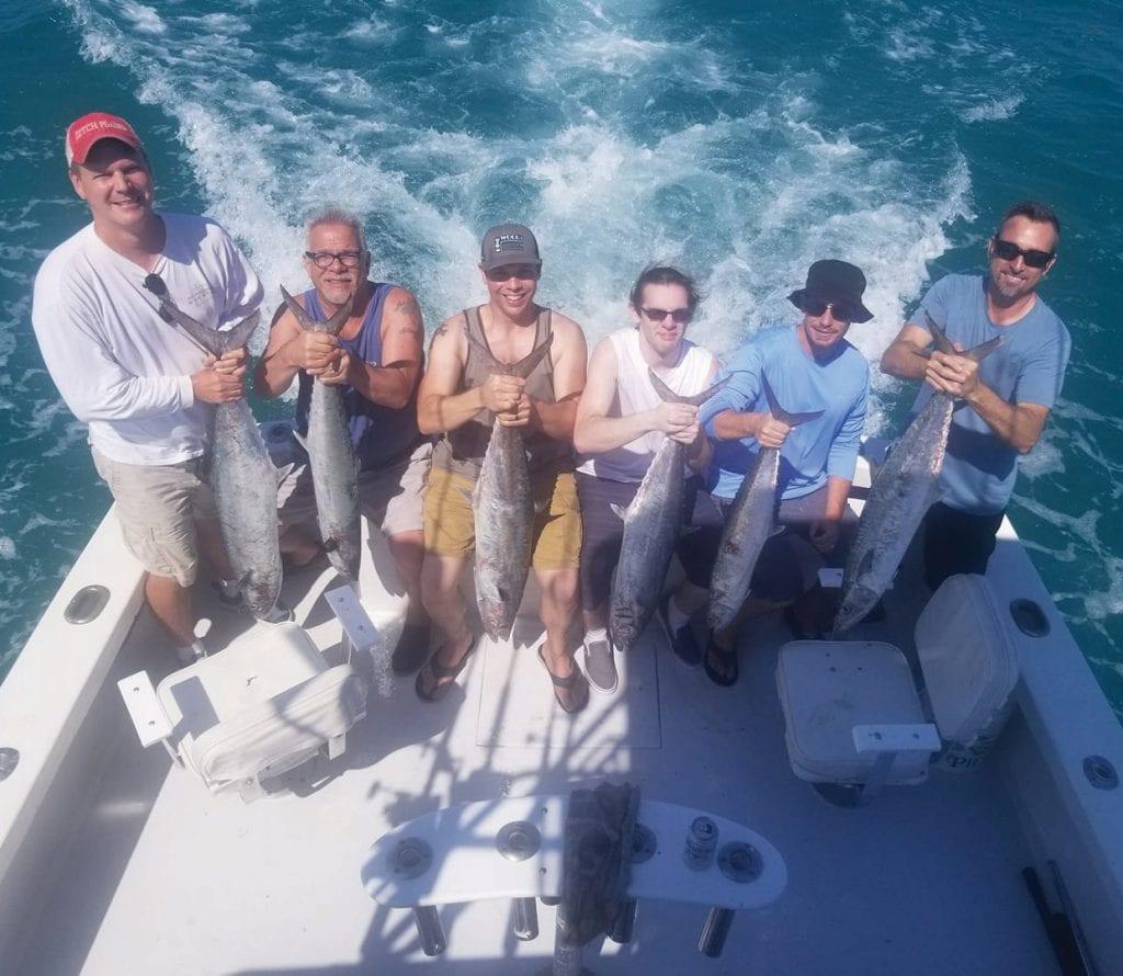 ¦ Wild Bill Charters: You get a fish, you get a fish, everyone gets a fish. — Capt. Artie Duplessis 1801 N. Roosevelt Blvd., Key West 305-744-7957 www.wildbillkeywest.com